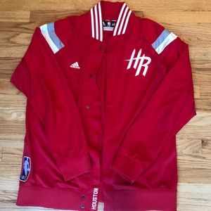 Official Adidas Houston Rockets On Court jacket